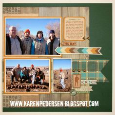 Spring - Summer Idea Book Blog Hop/Timberline Layout