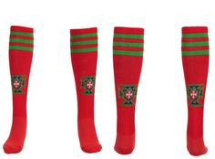 Chaussettes Portugal Domicile Rouge 02 2013 2014 #football Equipement Football, Portugal, 2013, Socks, Red