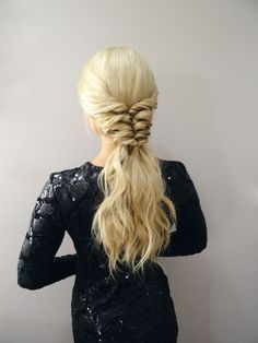 Get the Look! Twist Ponytail Tutorial by Kiley Potter on Bangstyle, House of Hair Inspiration