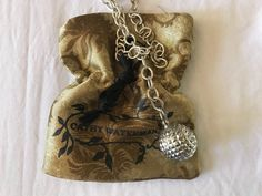~ CATHY WATERMAN STERLING SILVER CHAIN PENDANT NECKLACE (EXQUISITE!) #CathyWaterman #CHAIN