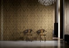 Carta da Parati & Wallcovering Ethnic Collection // Tribal by Glamora
