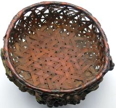Circa 1920s Barbola Basket/Grapes and Leaves