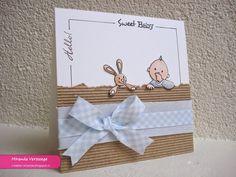 Miranda's Creaties - Breed lint #1: Hello Sweet Baby Boy