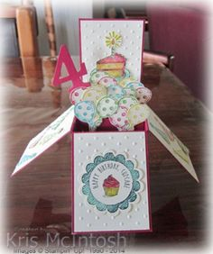 Stampin' Up! Sketched Birthday; card in a box; avas-birthday-card-2014-4