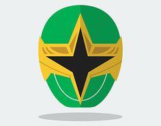 "Check out new work on my @Behance portfolio: ""Green Ranger - Power Rangers Ninja…"