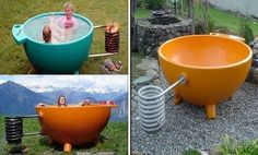 Outdoor Hot Tub Ideas: Dutchtub