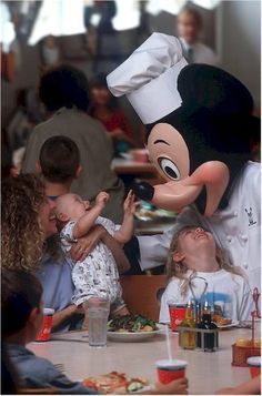 Enjoying Walt Disney World with young children.