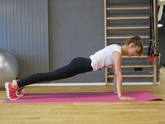 Sportübung für den Bauch Trainer, Workout, Style Magazin, Sport Fitness, Exercise, Health, Sports, Tighten Stomach, Good Workouts