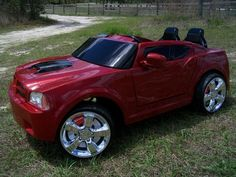 Vulgar Display Of Power Wheels Custom NOS Dodge Charger Kid Trax