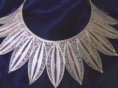 ▶ Silver Filigree Jewellery - YouTube