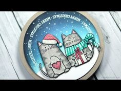 Video by Kristina Werner using New Simon Says Stamp from the Create Joy release.