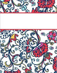 free binder covers