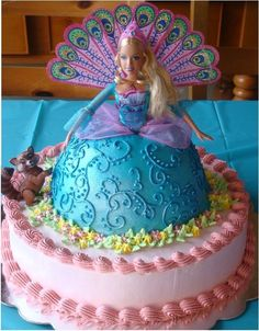 Barbie Island Princess Cake Flickr Photo Sharing