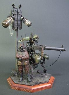 M19 Model Figure | Plastic Chamber