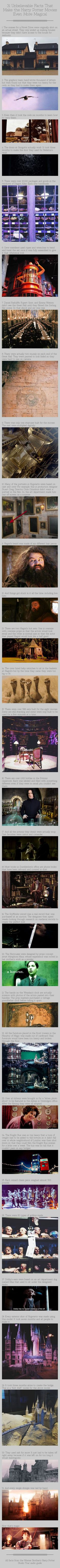 31 Unbelieveable Facts That Make The Harry Potter Movies Even More Magical