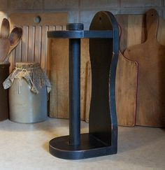 Colonial Paper Towel Holder / Primitive Kitchen or by Sawdusty, $35.00