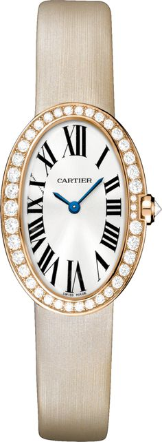 #Cartier Baignoire Small Model Pink (Rose) Gold #Watch