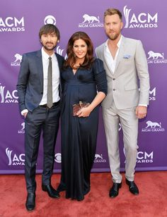 Lady Antebellum at the Academy of Country Music Awards 2013