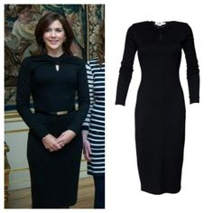 Her Royal Highness, Crown Princess Mary, wearing classic ELISE GUG