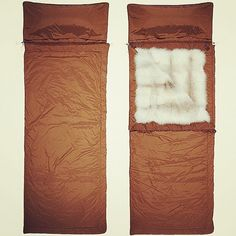 Fur lined sleeping bags from Prada. Pretty incredible.