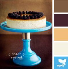 Color Palette by Design Seeds Colour Pallette, Colour Schemes, Color Combos, Cool Backdrops, Colorful Cakes, Design Seeds, Colour Board, Paint Chips, Color Of Life