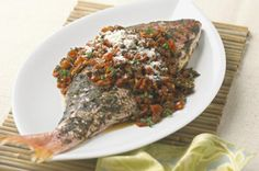 Red Snapper Cancato Style with Chorizo-Tomato Salsa
