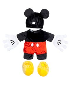 Mickey Mouse Costume 4 pc. | Build-A-Bear Workshop