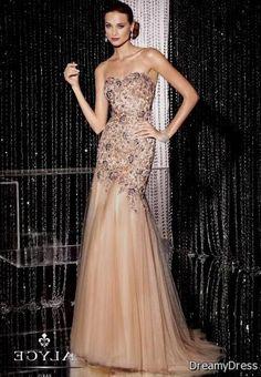 pink champagne prom dress 2017-2018 » DreaMyDress