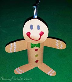 1000 images about gingerbread man craft ideas on for Paper roll arts and crafts