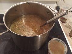 Make delicious chicken stock with food scraps. Zero waste.
