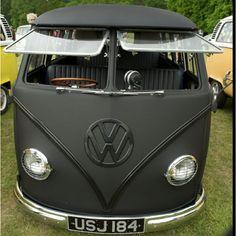 Plasti Dipped VW Bus!