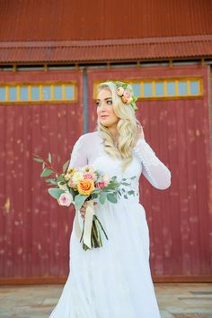 sincerely, truly scrumptious: Our Wedding// The Look wedding dress