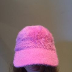 Pink fur cap by on Etsy Dope Hats, Angora, Pop Fashion, Fashion Killa, Everything Pink, Daddys Girl, Bad Hair Day, Pink Aesthetic, Headgear