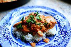 dinner tonight, Indian-inspired, Butter Chicken, also Chicken Makhani… *noms* Chicken Makhani, Chicken Tikka, Chicken Curry, Restaurant Indien, Indian Butter Chicken, Indian Food Recipes, Ethnic Recipes, Tasty Kitchen, Asian