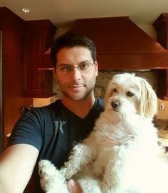 Kitchen selfie.  At home with the pup.  [#RescueDog #DogSelfie #RescuePup #DogDad #DoggyDaddy #cute #love #nofilter #DogLife #youateawholewheelofcheese #SD #family #BaxterDog #baby #Baxter #besties #BestDog #BestFriend #MyBuddy #dogsofinstagram #DogChild #RescuePuppy #Puppy #PuppyLove #dog #MyBaby]