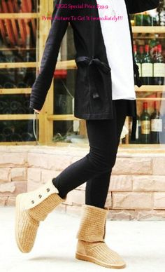 2013 Hot Knit Ugg Boots, Classic Ugg Sweater Boots, Womens Winter Boots Trends