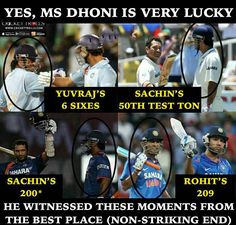 MS Dhoni is very lucky they said well said! For more cricket fun click: http://ift.tt/2gY9BIZ - http://ift.tt/1ZZ3e4d