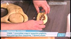 Entertv: Πασχαλινά τσουρέκια από τον Βασίλη Καλλίδη Β' Pancakes, Oatmeal, Easter, Cooking, Breakfast, Food, Youtube, Ideas, The Oatmeal