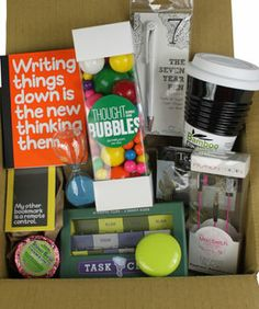 """""""Cram, Bam, Thank You Ma'am"""" - Exam Study Kit from Dormify. Saved to College, Eh? University Survival, College Survival, Dorm Gifts, Survival Kit Gifts, Survival Essentials, Thought Bubbles, Exam Study, Student Gifts, Graduation Gifts"""