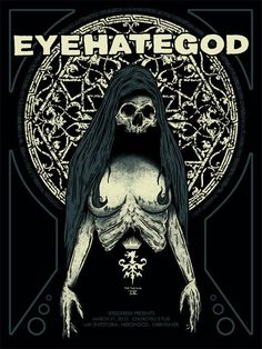 Eyehategod Rock Posters, Band Posters, Concert Posters, Music Artwork, Metal Artwork, Cool Artwork, Stoner Rock, Stoner Art, Bloodborne Concept Art