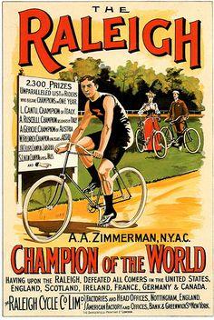 Raleigh vintage adverts