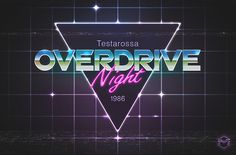 Showcase of Vibrant 80s Inspired Neon Artwork