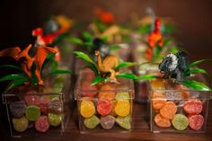dinosaur centerpieces ideas | Jurassic Park Party with Such Awesome Ideas via Kara's Party Ideas ...