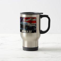 1996 Impala SS Travel Mug - home gifts ideas decor special unique custom individual customized individualized