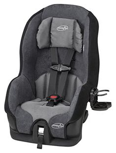 Evenflo Tribute LX Convertible Car Seat is not only affordable, but it has a lot of features that are more commonly found on far more expensive car seats. Forward Facing Car Seat, Best Convertible Car Seat, Press The Red Button, Long Car Trips, Body Cushion, Best Car Seats, Fantastic Baby, Luxury Cars, Baby Strollers