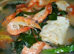 Welcome to Mely's  kitchen...the place of glorious and healthy  foods: Fish and Shrimp Sinigang