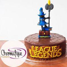 League of Legends cake ( Torta de Legue of Legends) https://www.facebook.com/ChromatiquePasteleria