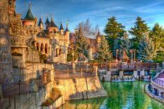 Sleeping Beauty Castle Grounds by azerinn.deviantart.com on @DeviantArt