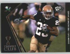 2010 Press Pass #53 Golden Tate - Notre Dame (Trophy Club) (Football Cards) by Press Pass. $1.14. 2010 Press Pass #53 Golden Tate - Notre Dame (Trophy Club) (Football Cards)