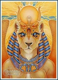 Sekhmet Tattoo sekhmet by soni alcorn-hender. the only way to stop her ...